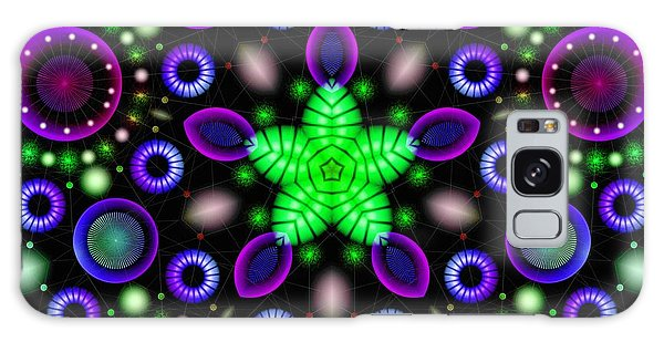 Galaxy Case featuring the digital art Neostar by Derek Gedney