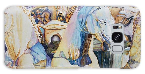 Neptune's Sea Horses - Florence Galaxy Case