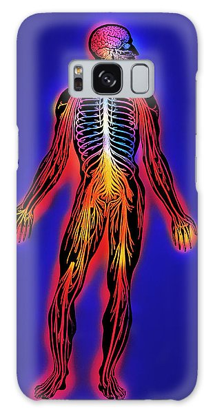 Nervous System Galaxy Case - Nervous System by Mehau Kulyk/science Photo Library