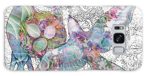 Nesting 3 Galaxy Case by Ursula Freer