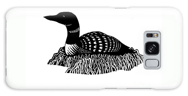 Nesting Loon Galaxy Case