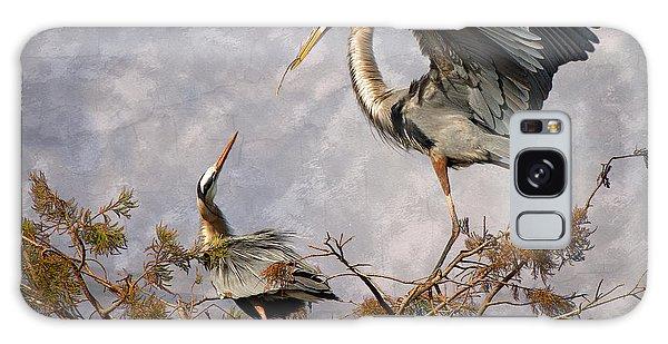 Boynton Galaxy S8 Case - Nesting Time by Debra and Dave Vanderlaan