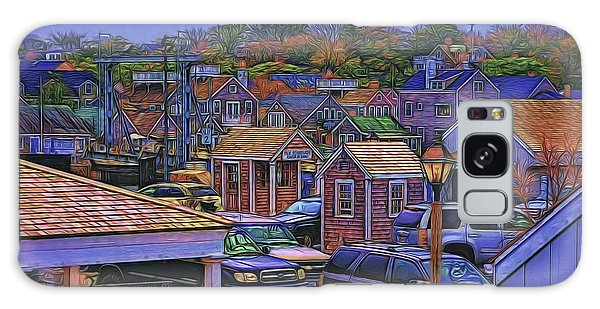 Nestling Nantucket Galaxy Case by Jack Torcello