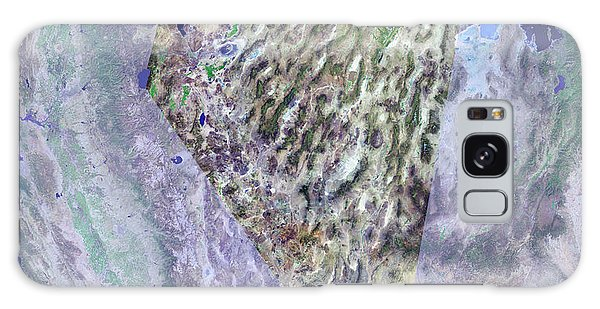 Usa Map Galaxy Case - Nevada by Mda Information Systems/science Photo Library