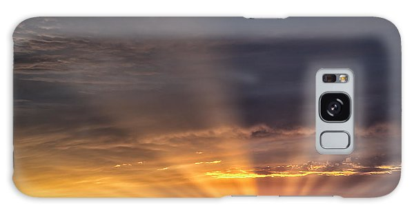 Nevada Sunset Galaxy Case by Janis Knight
