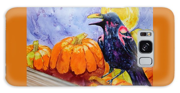 Nevermore Galaxy Case by Nancy Jolley