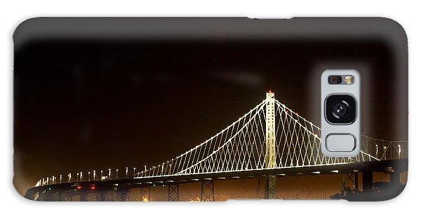 New Bay Bridge Galaxy Case by Bill Gallagher