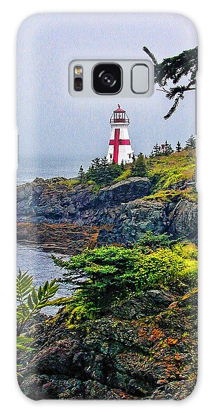 New Brunswick Lighthouse Galaxy Case by Lewis Mann