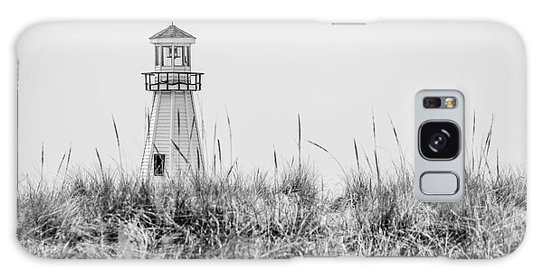 Lighthouse Galaxy Case - New Buffalo Lighthouse In Southwestern Michigan by Paul Velgos
