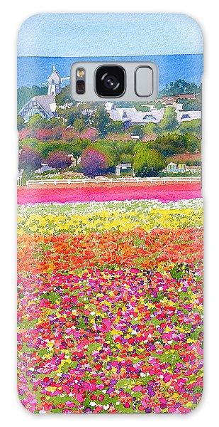 New Carlsbad Flower Fields Galaxy Case