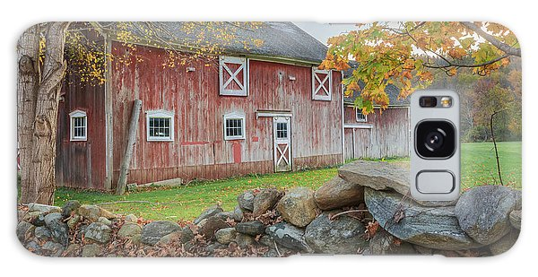 New England Barn Galaxy Case