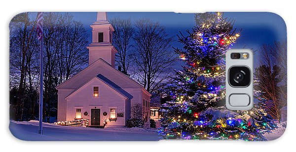 New England Christmas Galaxy Case