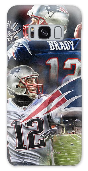 Pig Galaxy S8 Case - New England Patriots by Mike Oulton