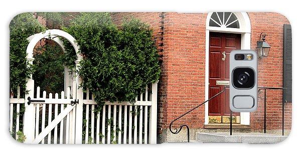New England Street Scene Galaxy Case