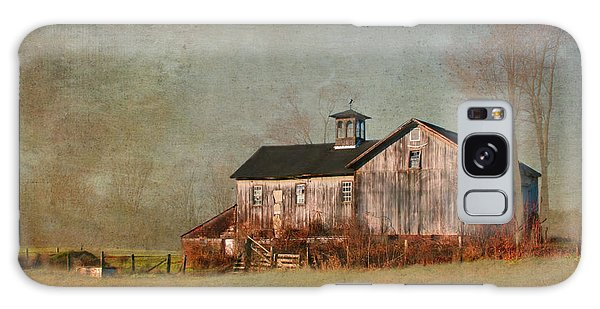 New Hampshire Barn  Galaxy Case by Betty  Pauwels