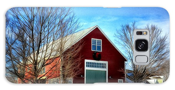 New Hampshire Farm Galaxy Case