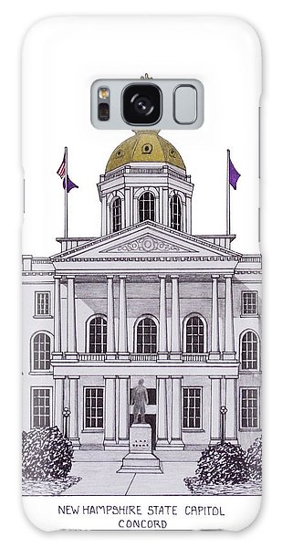 New Hampshire State Capitol Galaxy Case