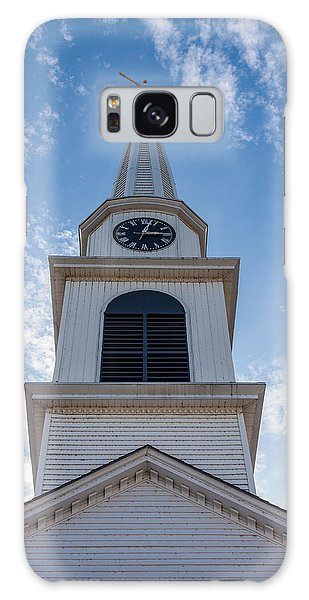 New Hampshire Steeple Detailed View Galaxy Case by Karen Stephenson