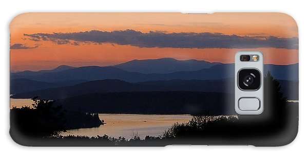 New Hampshire Sunset Galaxy Case by Mim White