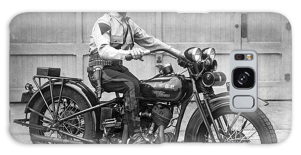 New Jersey Motorcycle Trooper Galaxy Case