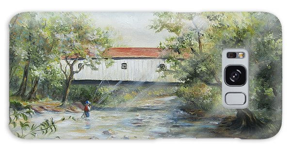 New Jersey's Last Covered Bridge Galaxy Case