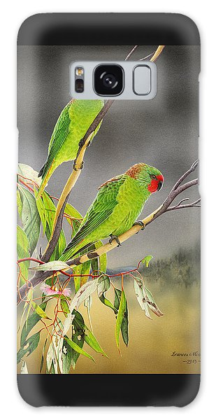 New Life - Little Lorikeets Galaxy Case