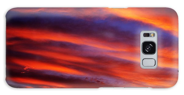New Mexican Sunrise Galaxy Case