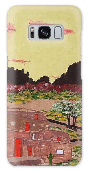 New Mexico Adobe Home Galaxy Case by Brady Harness