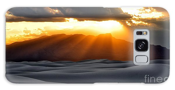 Galaxy Case featuring the photograph New Mexico Desert by Brian Spencer