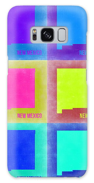 Mexican Galaxy S8 Case - New Mexico Pop Art Map 2 by Naxart Studio