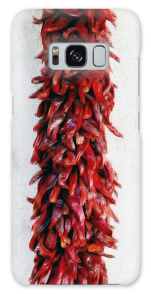 New Mexico Red Chili Art Galaxy Case by Barbara Chichester