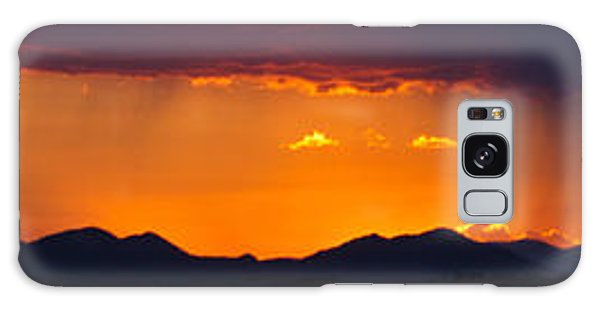 New Mexico Sunset Galaxy Case by Atom Crawford