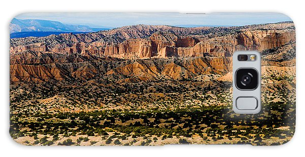 New Mexico View Galaxy Case by Atom Crawford