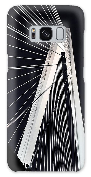 Galaxy Case featuring the photograph New Mississippi River Bridge by Matthew Chapman