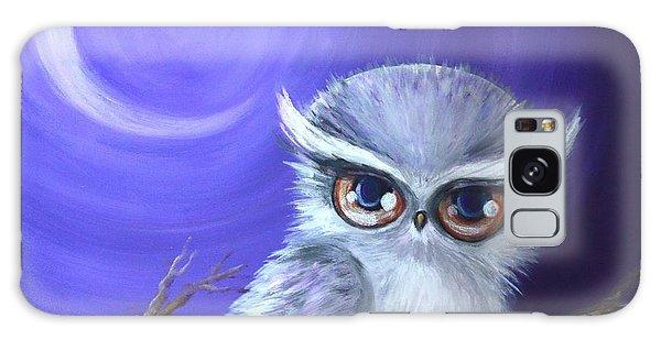 New Moon Owl Galaxy Case by Agata Lindquist