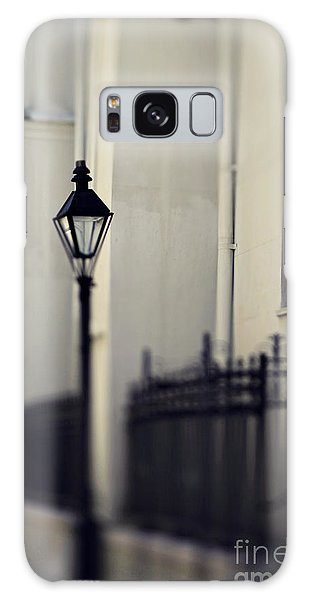 New Orleans Cathedral Street Lamp Galaxy Case