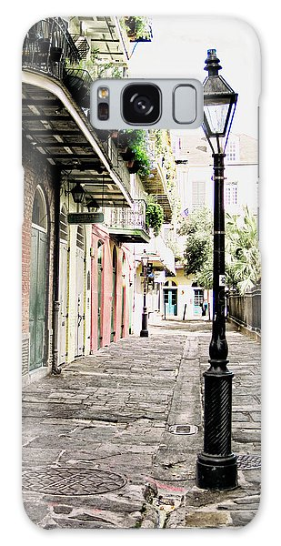 New Orleans Cobblestone Galaxy Case by Heather Green