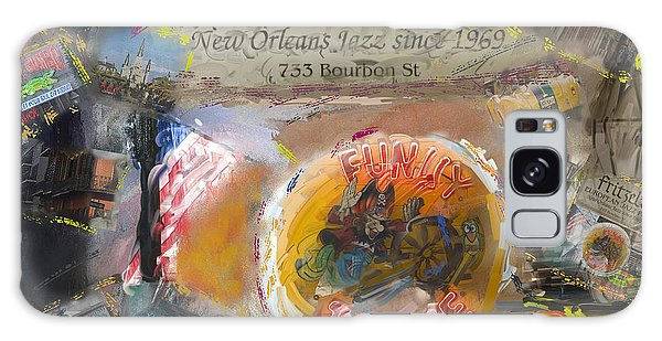 New Orleans Collage Galaxy Case