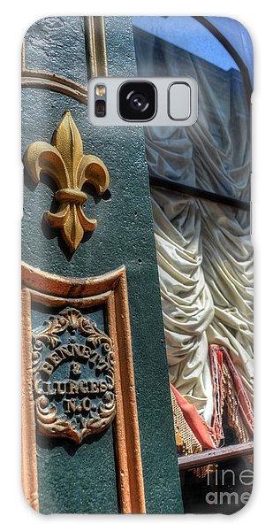 New Orleans Fleur-de-lis Galaxy Case by Timothy Lowry