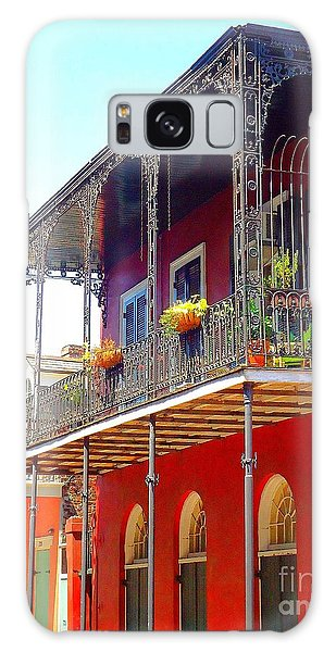 New Orleans French Quarter Architecture 2 Galaxy Case