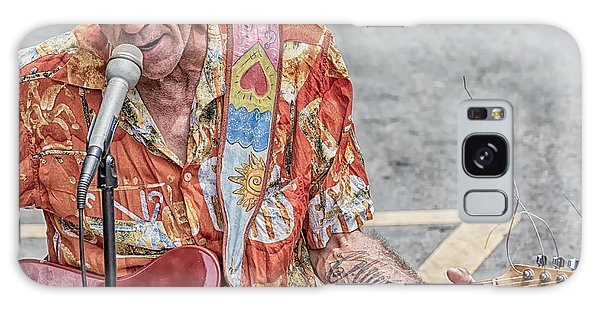 New Orleans Guitar Man Galaxy Case