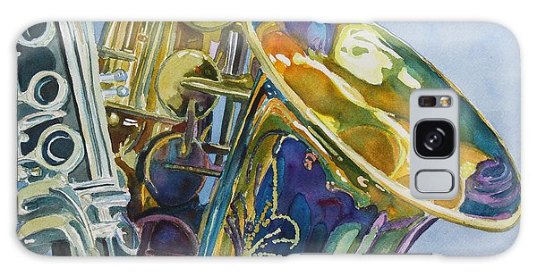 Saxophone Galaxy S8 Case - New Orleans Reeds by Jenny Armitage
