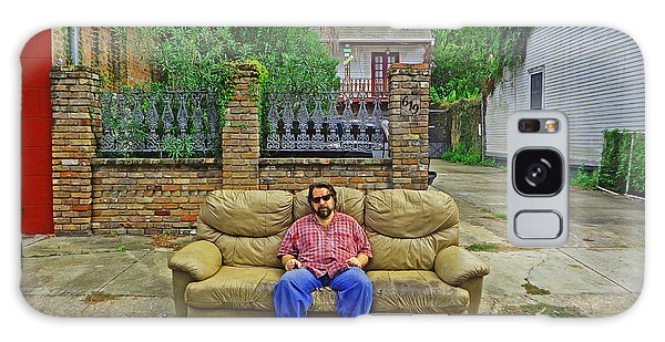 New Orleans Street Couch Galaxy Case