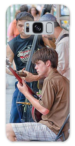New Orleans Street Trio Galaxy Case