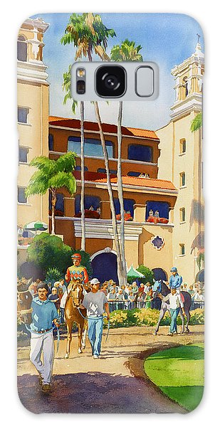 Planets Galaxy Case - New Paddock At Del Mar by Mary Helmreich