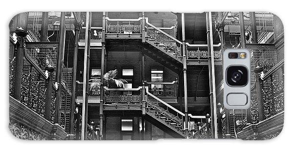 New Photographic Art Print For Sale Bradbury Building Downtown La Galaxy Case