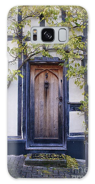 New Photographic Art Print For Sale Doorway 2 In Medieval Lavenham Galaxy Case