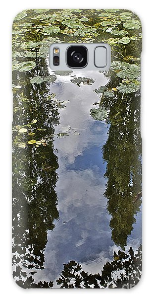 Reflections Amongst The Lily Pads Galaxy Case