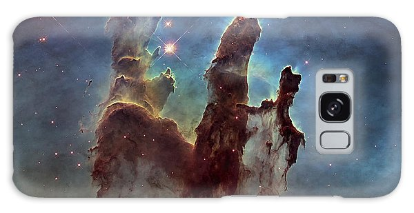 New Pillars Of Creation Hd Square Galaxy Case