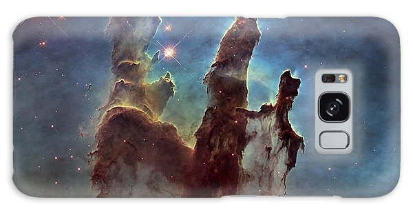 New Pillars Of Creation Hd Square Galaxy Case